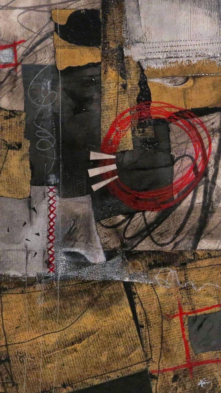 Collage art of Laura Lein-Svencner: Rambling Rawness