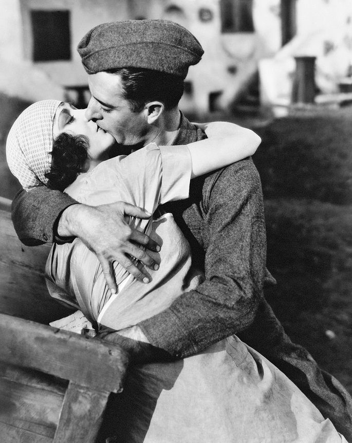"Renee Adoree and John Gilbert in ""The Big Parade"" 1925"