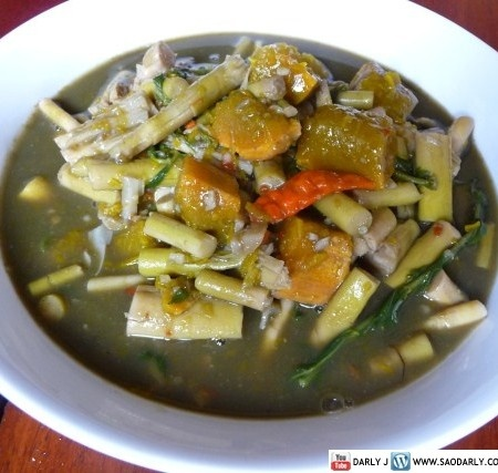 112 best laos foods images on pinterest laos food thai food gaeng nor mai lao bamboo stew forumfinder Choice Image