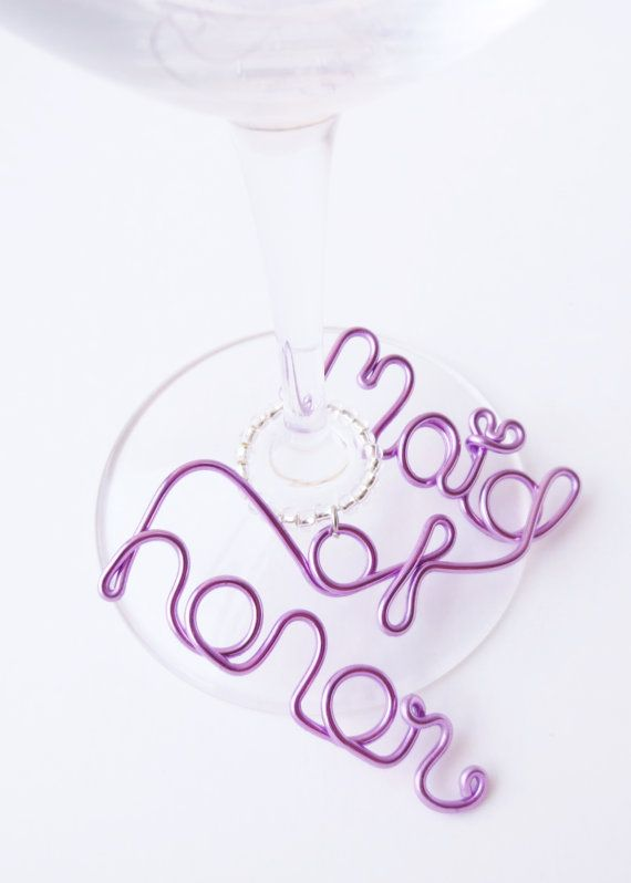 Maid of Honor Wine Charm