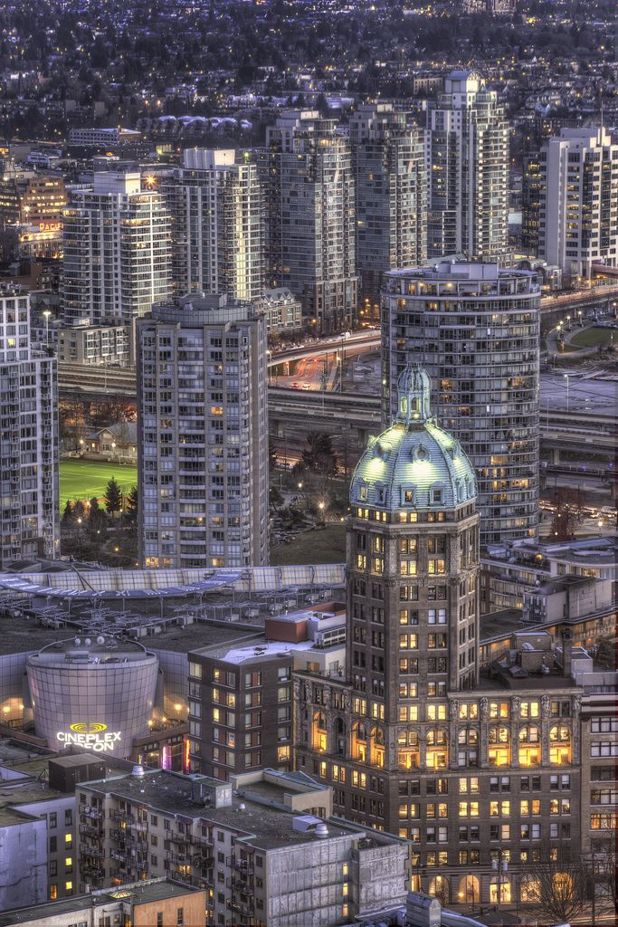 Sun Tower, Vancouver, B.C., Canada