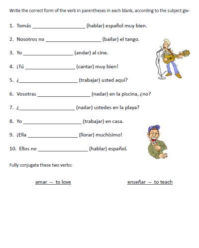 1000+ images about verbs on Pinterest | Spanish Worksheets ...