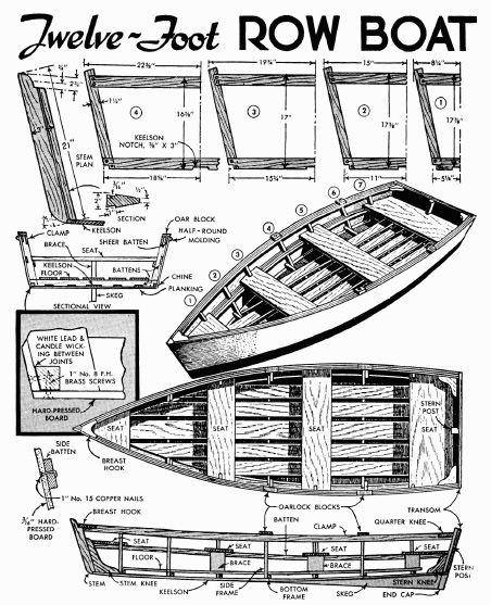Free Small Wooden Boat Plans Pinteres