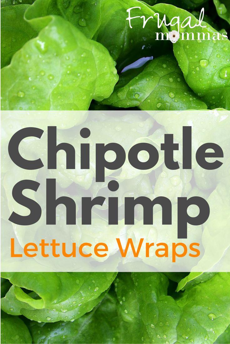Chipotle Shrimp Lettuce Wraps - Tasty and Flexible #lowcarb #keto #recipe