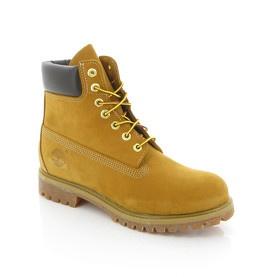 "Bottines ""Timberland 6 Prenium"" jaunes / Vente privée Timberland My Store"