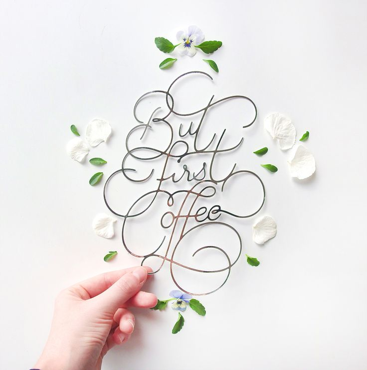 Paper Lettering by Charlotte Smith.