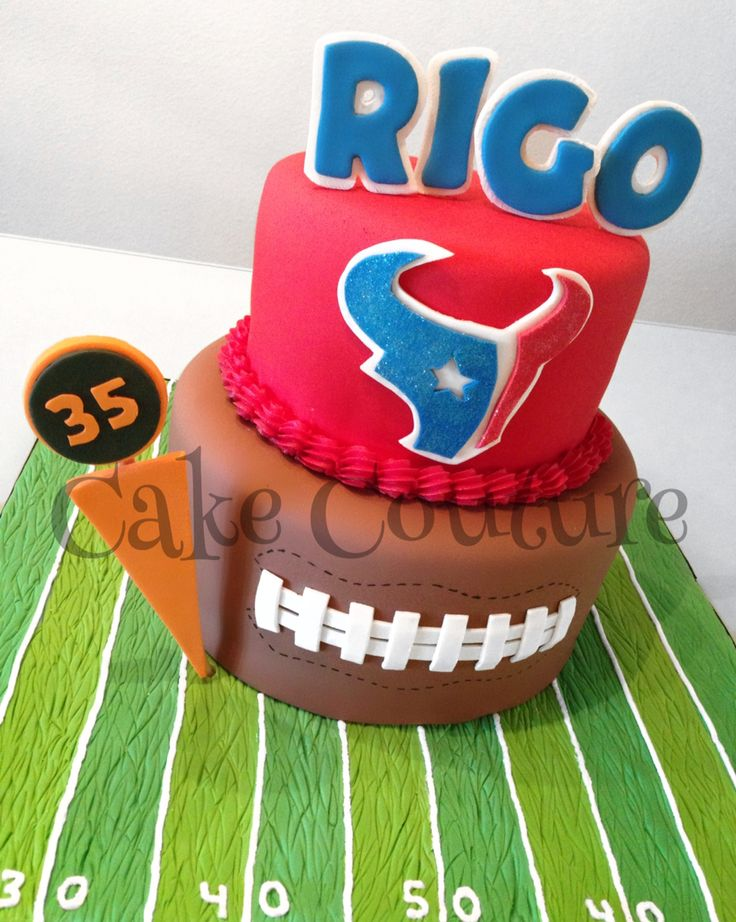 My Houston Texans Cake