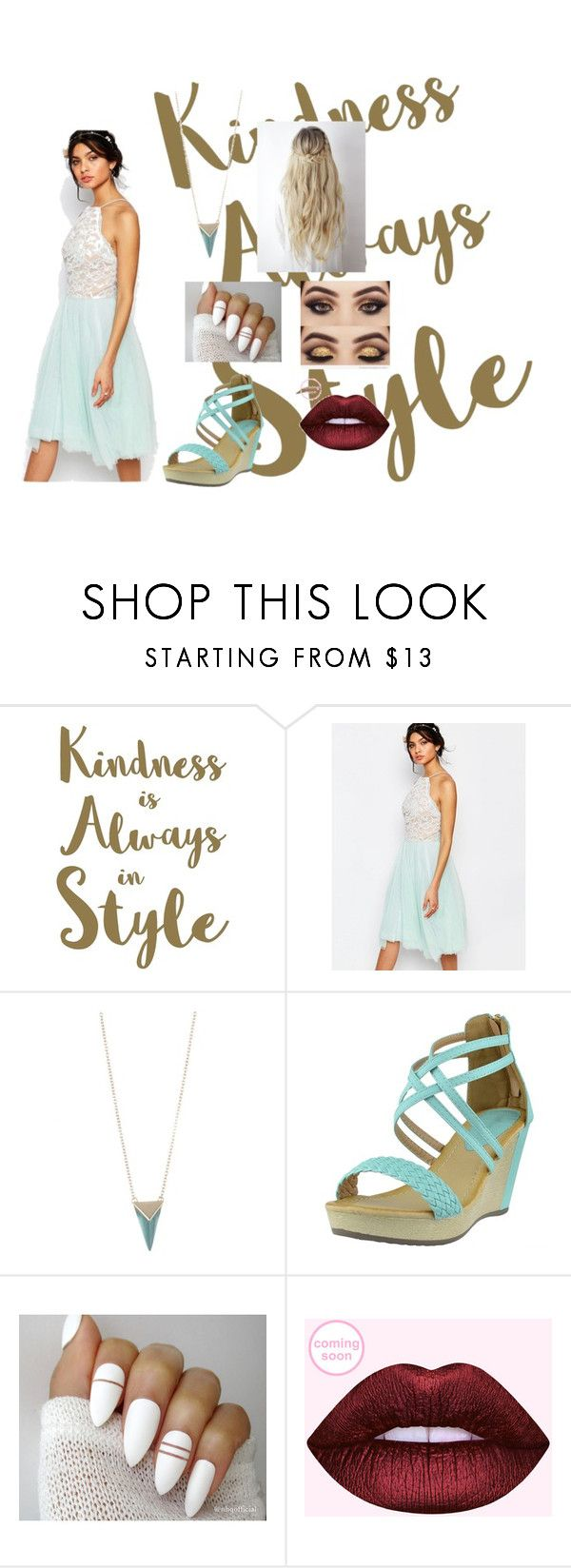 """Untitled #32"" by moriartylauren on Polyvore featuring beauty, Sixtrees, Jarlo and Alexis Bittar"