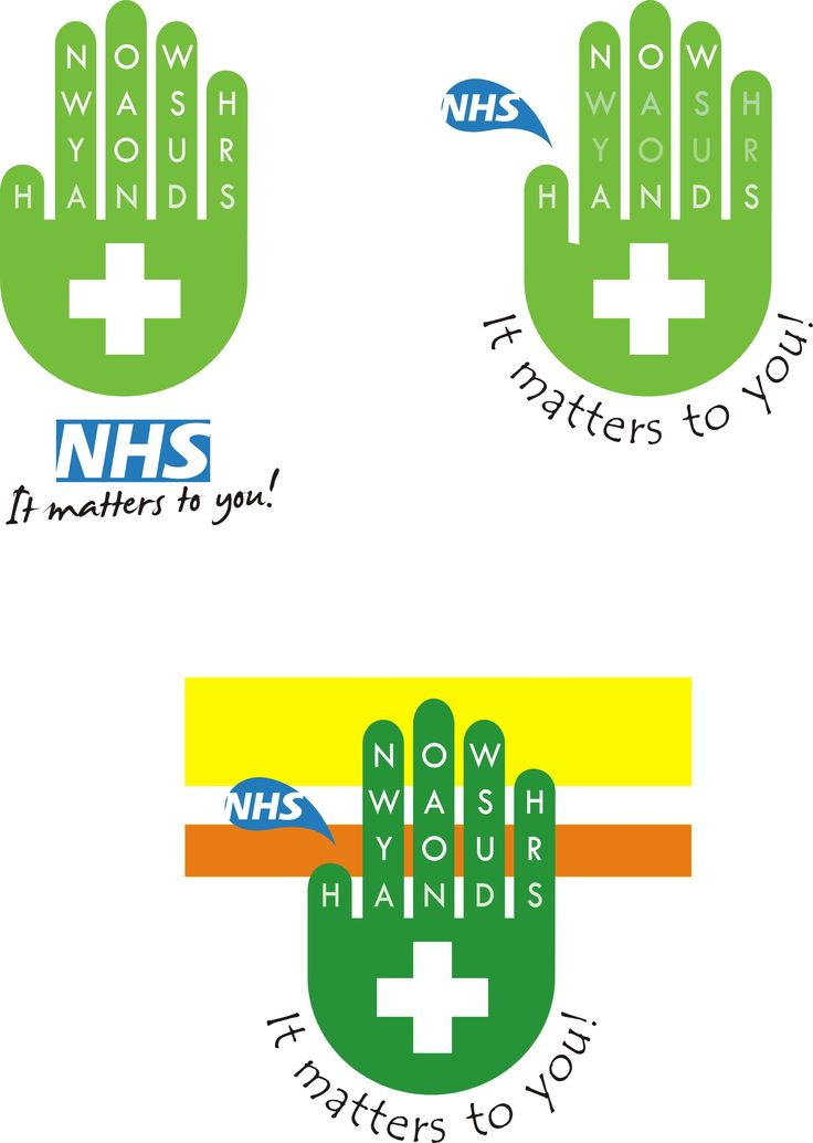 NHS cleansing signage