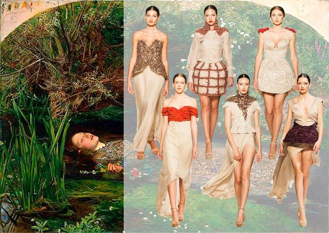 Ophelia's Dream - Mara Sanzone #fashion #designer http://www.harimag.it/23-special-guest/madeinmedi/2501-il-sogno-di-mara-sanzone-ophelia-s-dream