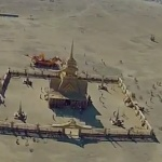 An Aerial First Person View of Burning Man 2012 Shot From a Radio-Controlled Aircraft