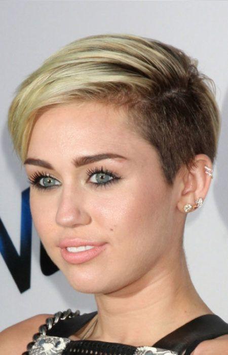 La plus Chaude des Stars d'Hollywood avec Contre-Dépouille Coupes de Cheveux 2017