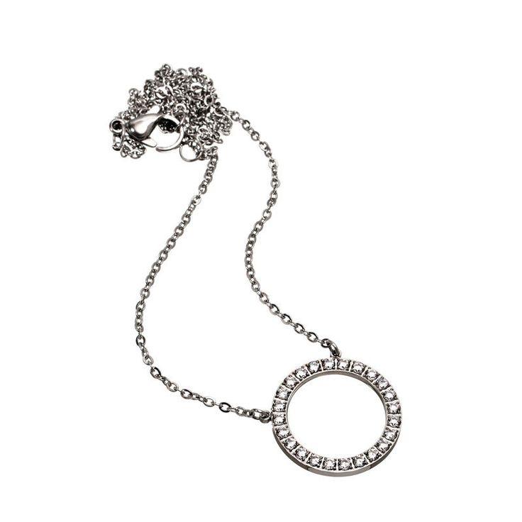 Edblad Glow Necklace Short Steel