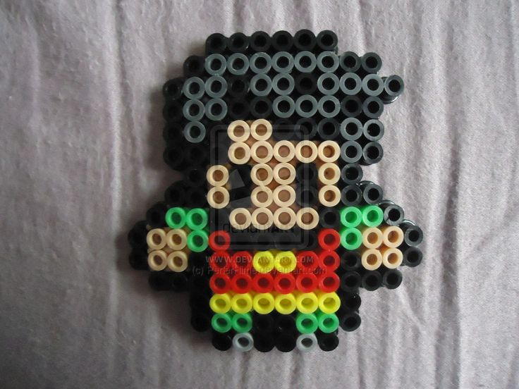 Robin from Teen Titans by PerlerHime on DeviantArt