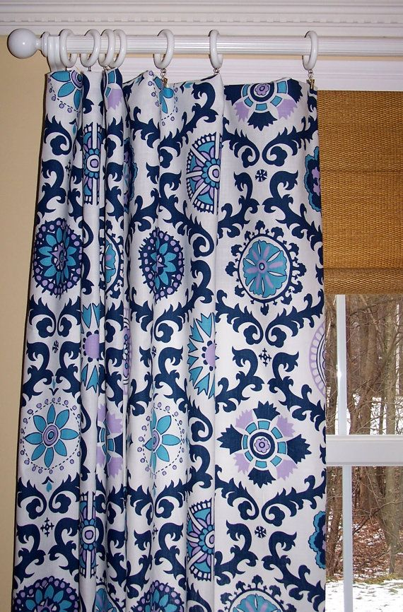 Custom Curtains Premier Prints Two Drapes Panels 50 Quot Wide