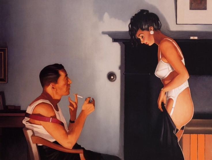Scottish painter Jack Vettriano