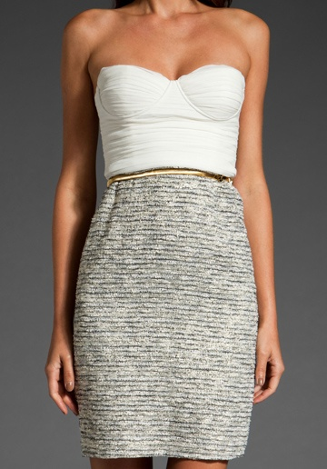 """ALICE + OLIVIA """"Elena Bustier Dress"""" this dress is named after me! aka made for me"""