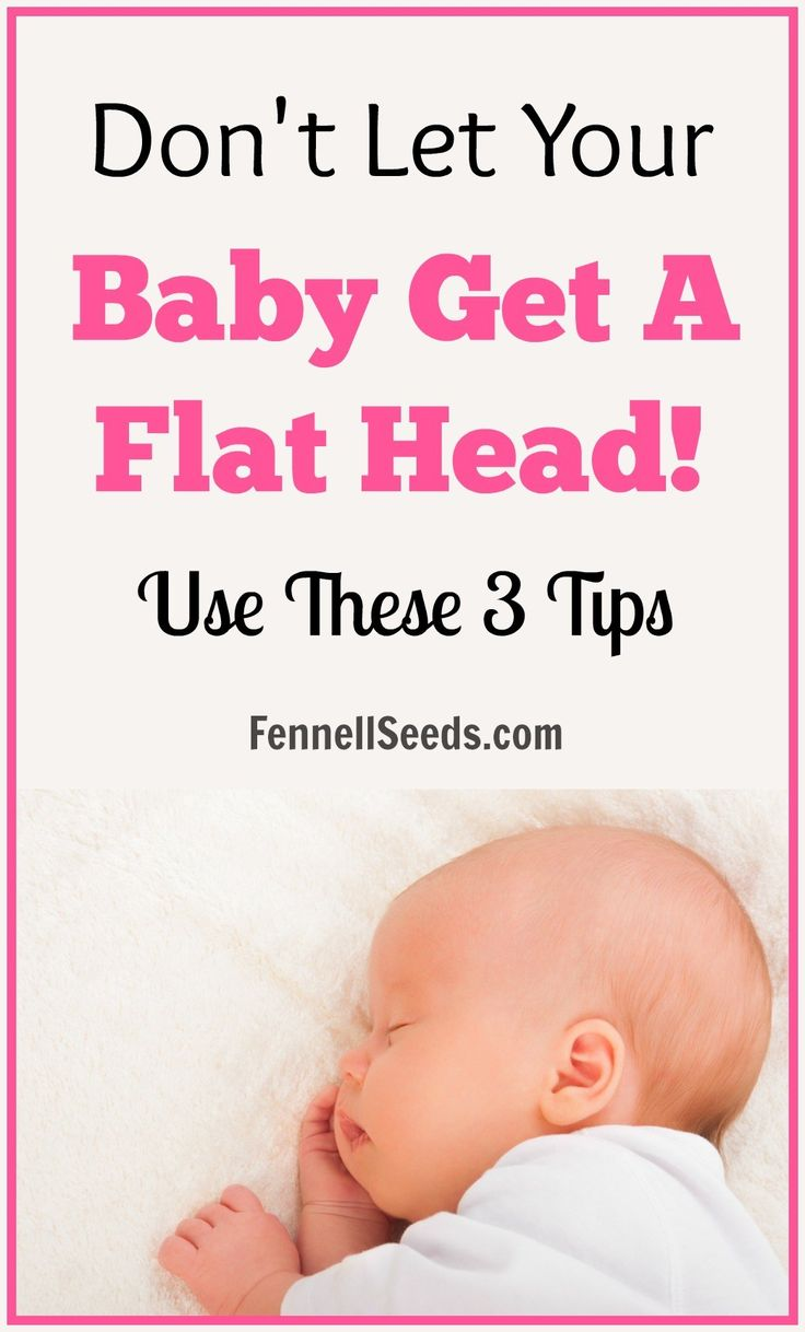 how to fix flat head at 4 months