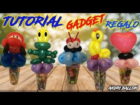 PALLONCINI MODELLABILI tutorial 32   GADGET IDEA REGALO - YouTube