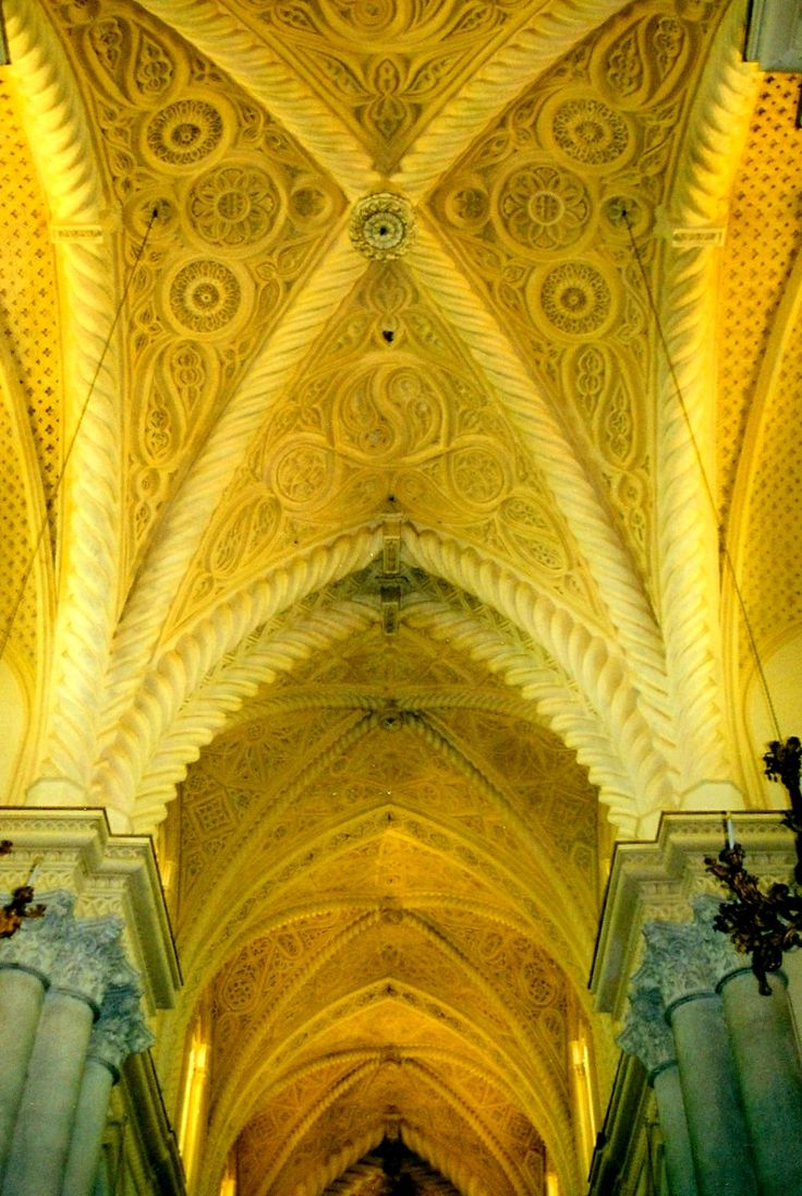 Interior of Erice Cathedral