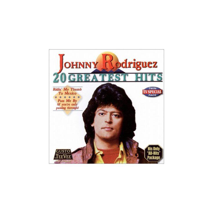 Johnny rodriguez - 20 greatest hits (CD)