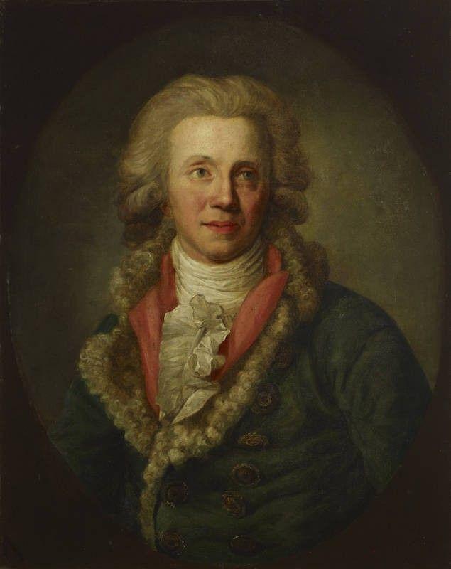 Actor Christian Wilhelm Opitz, by Anton Graff, 1790-1791 | Kansallisgalleria | Finna.fi