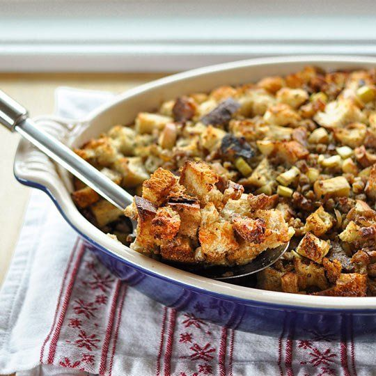 How To Make Bread Stuffing (Dressing) for Thanksgiving — Cooking ...