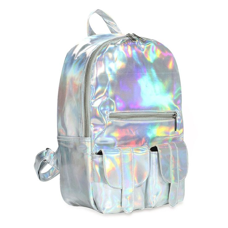 Your Gallery 2014 Womens New Fashion Bling Glitter Faux Leather Backpack