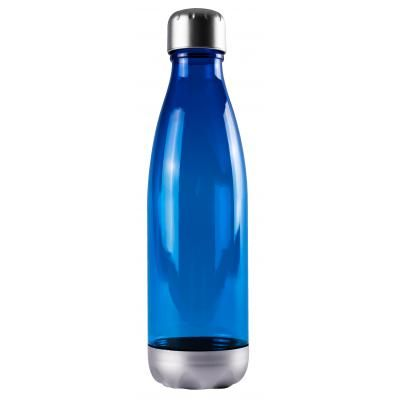 Image of Branded Tritan Fizzy Bottle, Milk Shaped Bottle blue 670 ml