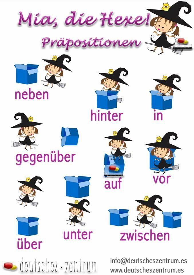 Präpositionen / Grammatik / Wortschatz/ gramática / Alemán / Grammatik / Deutsch / DAF