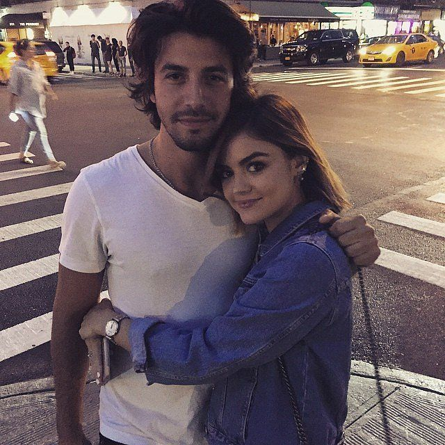 Lucy Hale Shares a Rare Instagram Snap of Her Boyfriend, Anthony Kalabretta: A photo posted by Lucy Hale (@lucyhale) on Aug 30, 2015 at 7:38pm PDT    Pretty Little Liars may not be back for season six until 2016, but Lucy Hale isn't complaining — because she's been spending her time with her boyfriend, Anthony Kalabretta.