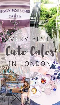 Cutest Cafés in London you won't want to miss! A guide to the best coffee shops in London, England.