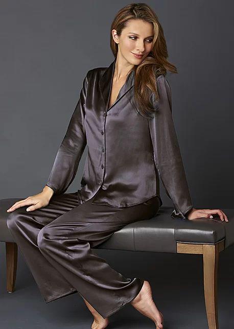 Best selling!!Sexy Gorgeous Printed Silk Satin Ladies