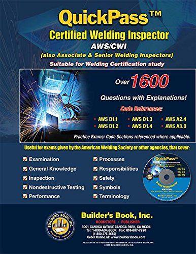 QuickPass Certified Welding Inspector AWS/CWI Study Guide...