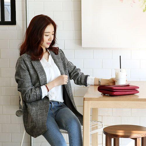 Womens Clothing Store [VANILLAMINT] Maron's Jacket / Size : FREE / Price : 48.59 USD #dailyllook #dailyfashion #fashionitem #ootd #outer #outwear #jakcet #vanillamint http://en.vanillamint.net/