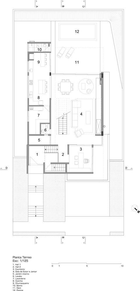 50 best ♢ arquitetura ♢ planta casas images on Pinterest House