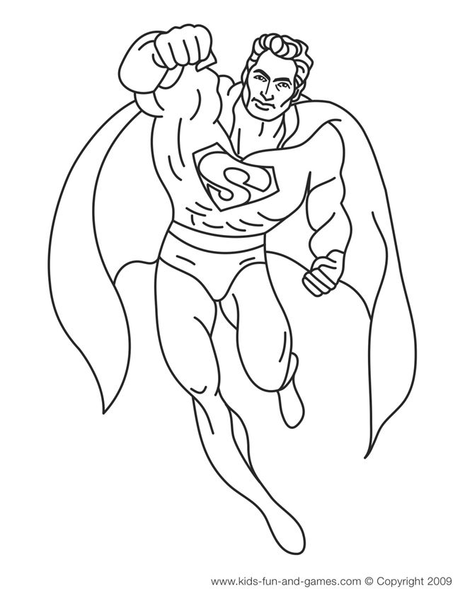superman drawing coloring pages pictures photos images superman