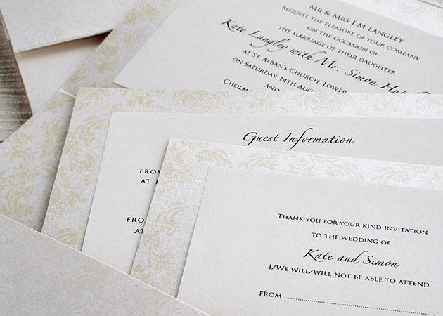Ivory Wedding Invitation Kits: 35 Best Wedding Invitations Images On Pinterest