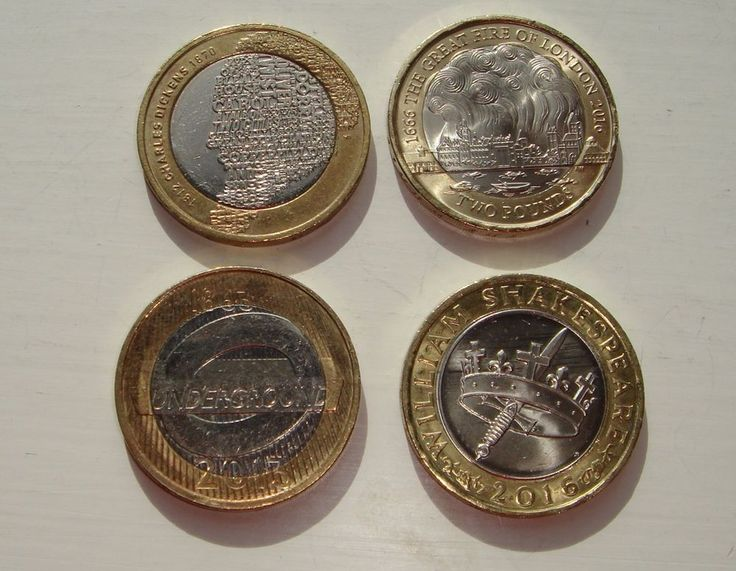 £2 coins x 4 London Underground  William Shakespeare Charles Dickens Great Fire £15.99 or Best Offer Ebay Uk Item Number 362163393854