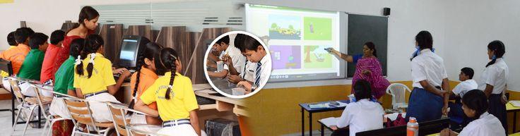 OCS, Rajsamand Kids Learning through Smart Class....