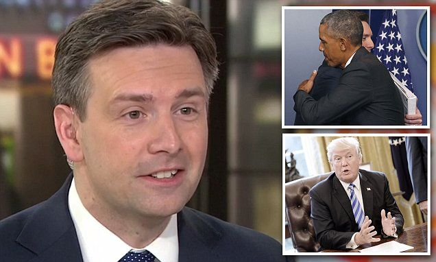 Obama press secretary Josh Earnest gets NBC trashes President 🤡Trump | Daily Mail Online