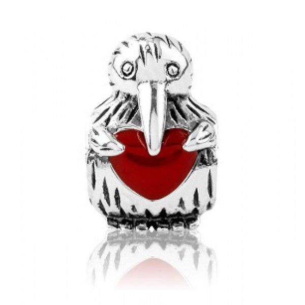 LKE014 Evolve Charm Kiwi Love - Buy Two Evolve Charms and get the Third at Half Price - Free Delivery #Charms #Pandora #NZ