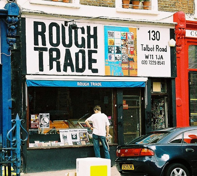 rough trade, notting hill by asebest, via Flickr