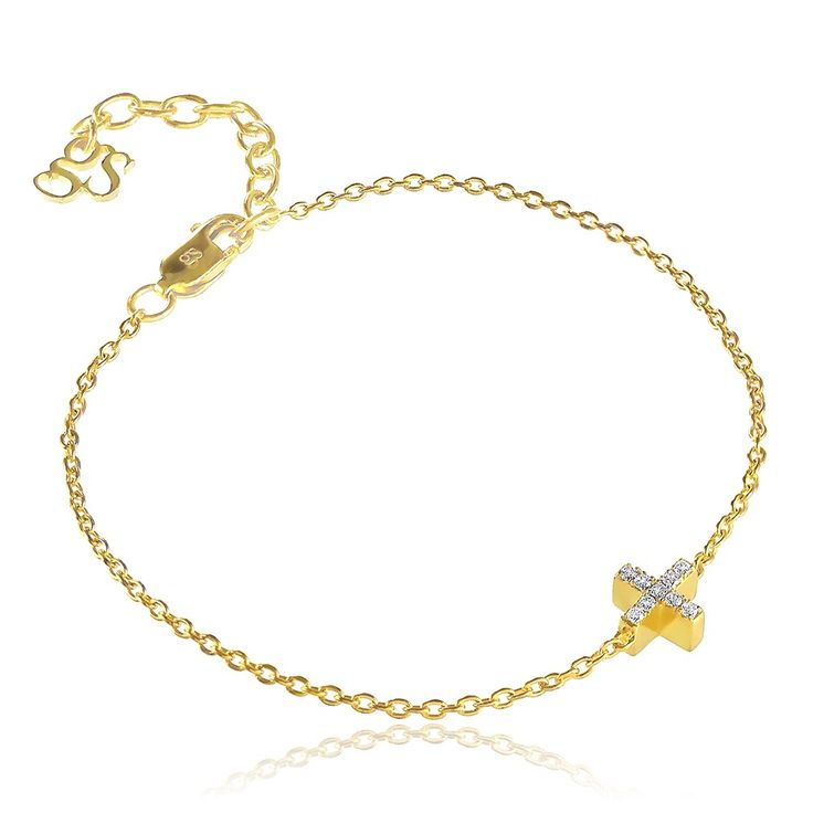 Destiny Bracelet in 14 karat gold with brilliant diamonds - Inspired by the West Coast of Denmark.  See more at www.gittesoee.com