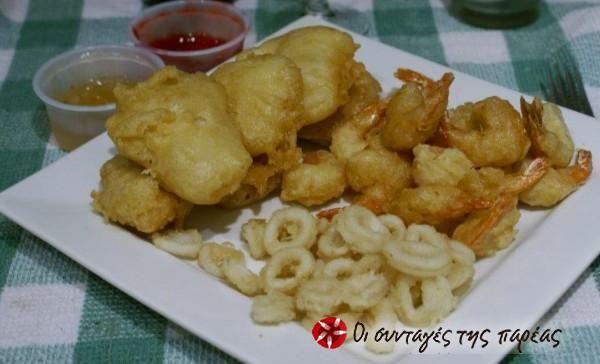 Κινέζικες τηγανιτές γαρίδες #sintagespareas