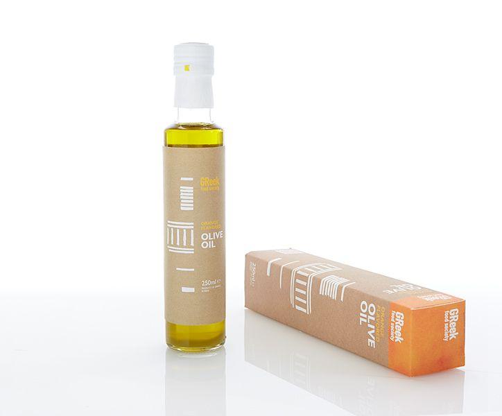 Greek Food Society  Orange Flavored Olive Oil