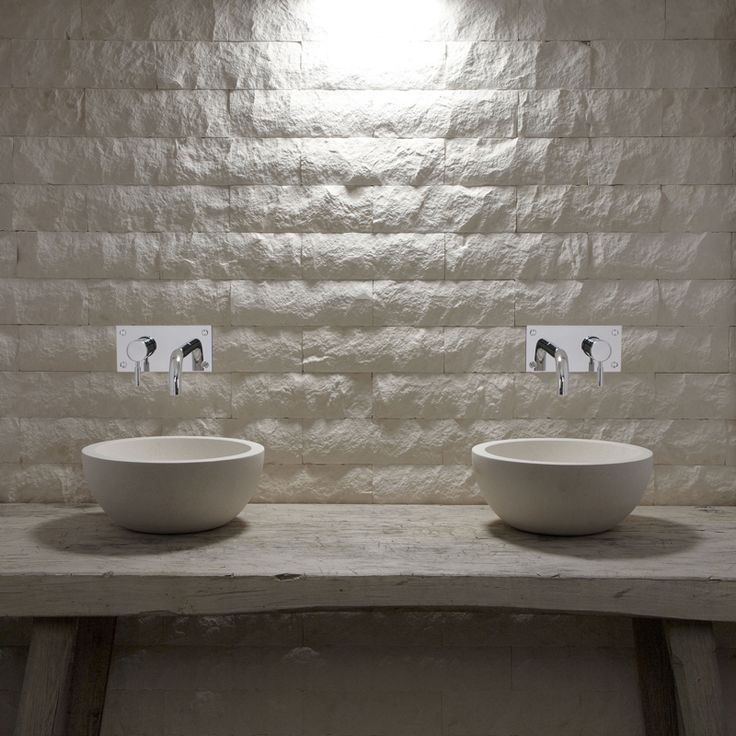 Flax Metro Splitface Tiles And Flax Honed Limestone Basins Xxx Part 89