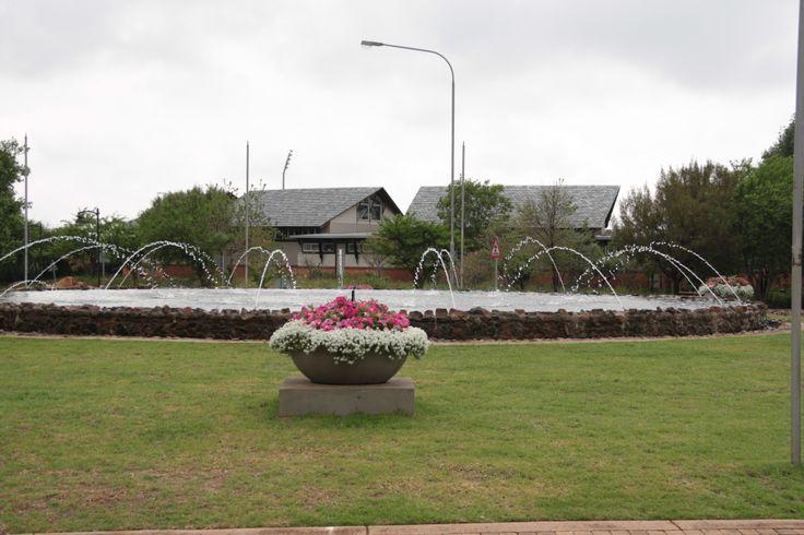 The access road to Windsor Gate, Midstream Estate. For more information, visit www.midrand-estates.co.za