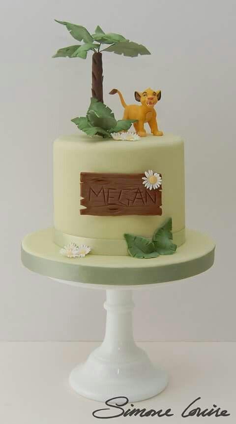 Lion king - Simba cake  Lion king theme  Pinterest  Lion king simba ...