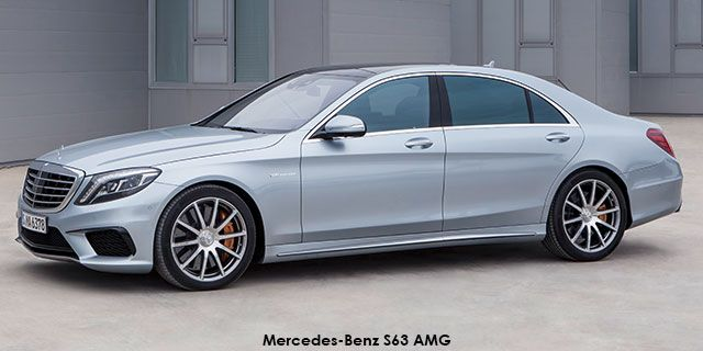 Mercedes-Benz S-Class S63 AMG   Price : R2,186,004.00   Engine size : 5.5L turbo  Fuel type : Petrol Fuel tank range average : 693km Fuel tank capacity including reserve : 70L Max top speed : 250km/h (opt 300) 0-100km/h : 4.4seconds Gearbox : Automatic Gear Ratios Quantity : 7